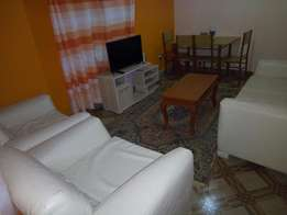 2 bedroom furnished apartment 3000khs per day