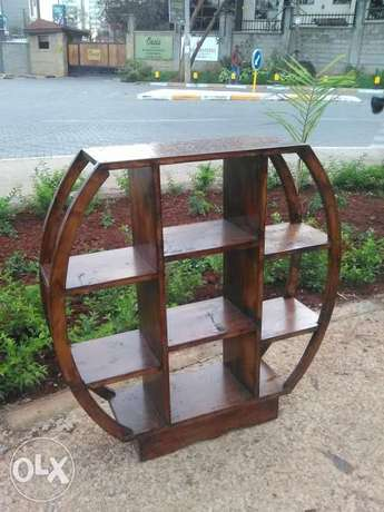 Round wooden shelf. Self made Karuri - image 1