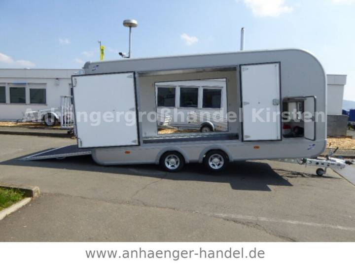 Ifor Williams CCT 5221 TRANSPORTA Autokoffer VOLL 3,5 t - 2019