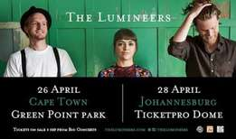 2 x Lumineers Golden Circle Tickets