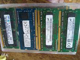 4gig DDR3 and DDR3L laptop ram