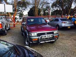 Toyota Hilurx Surf Diesel 5l engine Manual well maintained car buy and