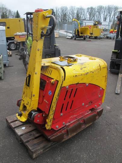 Weber Cr 10 Rüttelplatte Bodenverdichter 900 Kg - 2012
