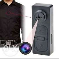 Mini Button Nanny Spy Camera HD