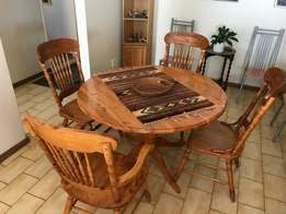 Oregon Pine Dining Room