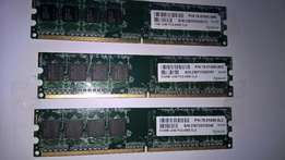 Computer Ram memory cards. For the older computer.