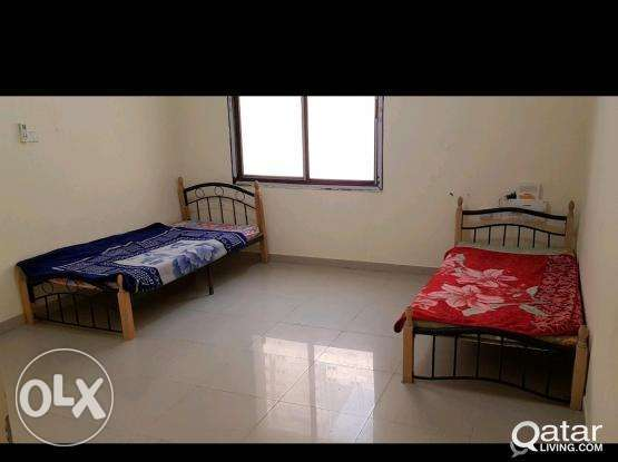 ROOM .Bed spaces for Ex Bachelors in Al Sadd preferred Indian/SriLanka