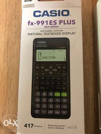 Scientific New Calculator CASIO fx-991 ES PLUS 2nd