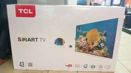 Tcl 43inch smart tv