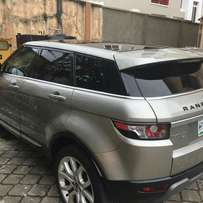 Range Rover Evogue 2012