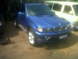 BMW X5 4.6IS for sale ( Motor Blown)