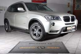 2012 BMW X3 2.0i A/T Exclusive