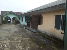 Four Apartment Bungalow at Obigbo, Portharcourt For Sale