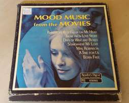 Mood Music from the Movies Vinyl Book J 1395