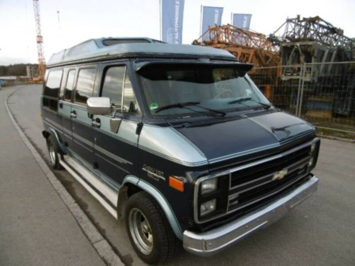 Chevrolet chevy van g 20 5,7l v8 lpg-gas*country - 1989