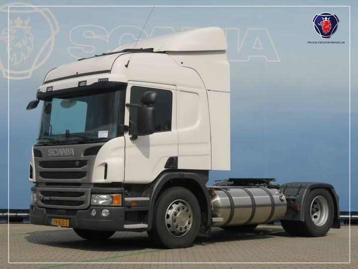 Scania P340 LA4X2MNA | LNG GAS - 2015