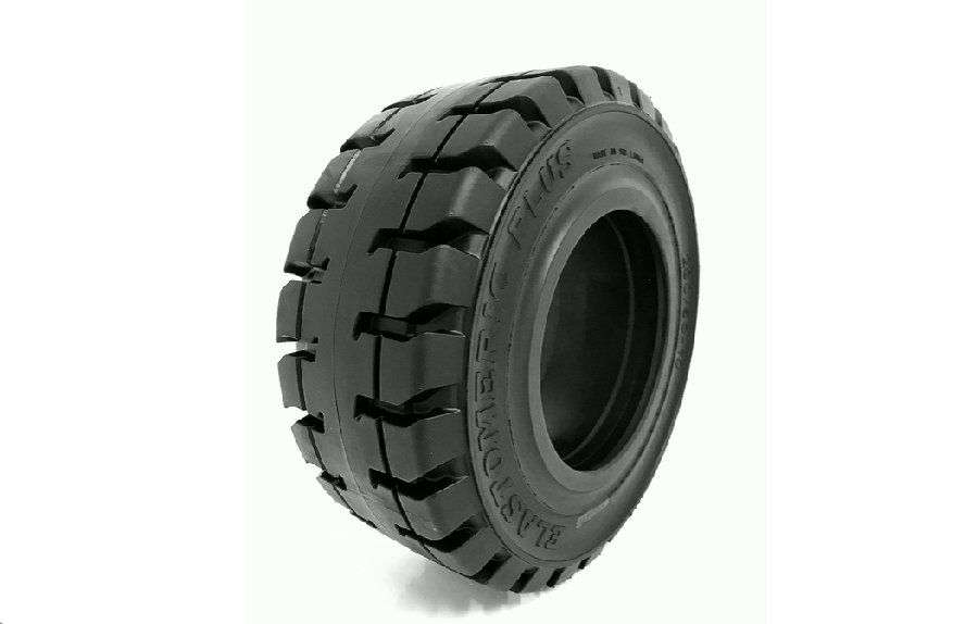 Elastomeric Plus Lock Negro Forklift Tyre - 2018
