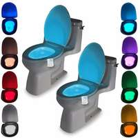 New Toilet Night light Motion Activated Sensor 8-Colours LED