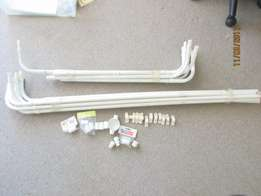 electrical conduit 20mm various lengths with bends and fittings