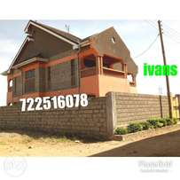 Well and good 4 br maisonette house for sale in ruiru kimbo