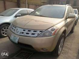 NISSAN Murano 2004 (few months used in perfect condition)