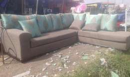 seven seater conner seat sofa
