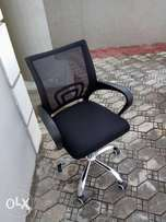 QD Net And Fabric Office Chair (Imported)