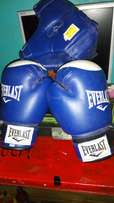 Boxing gloves and head gear for sale