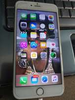 Used IPhone 6s Plus gold 64 gb with slight crack on the screen