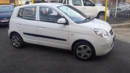 2010 White Kia Picanto 1.2 for sale