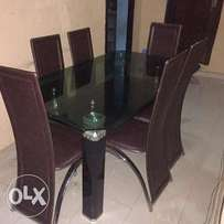 Royal Glass dining table