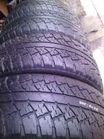 265/60/R18 on special in a good condition for sale each is R800