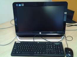 HP All in One Desktop Computer with key board and mouse