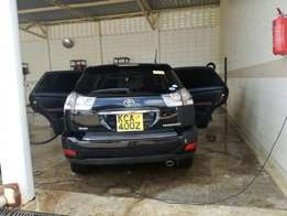 Toyota harrier KCA black with sunroof