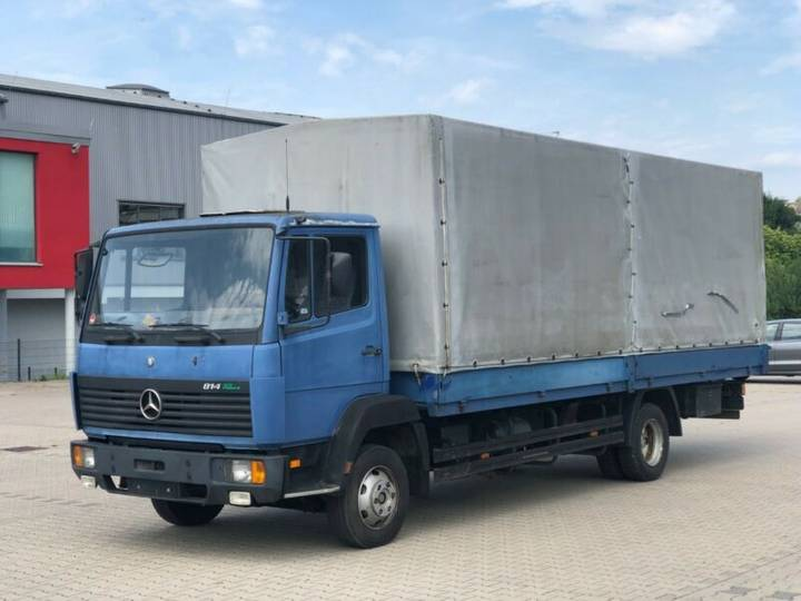 Mercedes-Benz 814 lang pferdetransporter - 1997