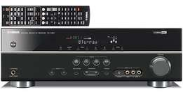 Yamaha HDMI Receiver Home Theater Amplifier with Remote 500 watts