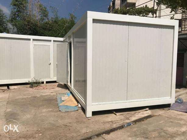 construction of prefabricated houses, bungalows and trailers