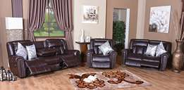 BRAND NEW! Miller Recliner Lounge Suite Only R 18 999