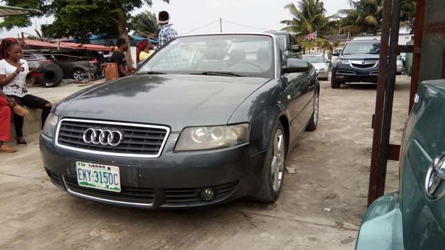 Smooth Driving Registered 2004 Audi A4 1.8T Convertible In Good Condit Lekki - image 8