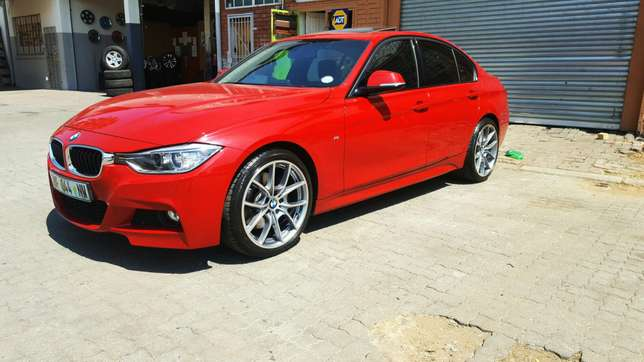 """19"""" BMW 6 Series rep Mags with Tyres Rustenburg - image 2"""