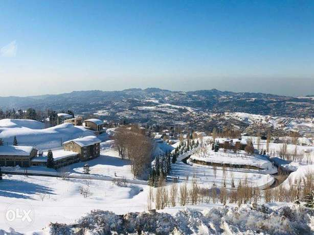 Land in the heart of Faqra with Panoramic Mountain View أرض في فقرا فقرا -  7