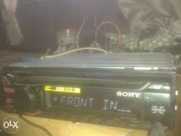 Sony deck aux and mp3