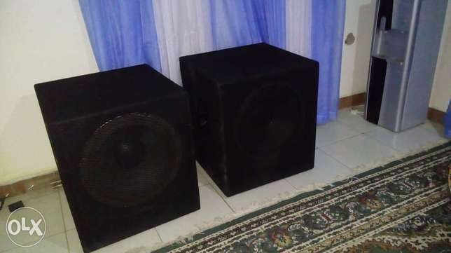 BASS Speakers (Two) - 18inches Embakasi - image 1