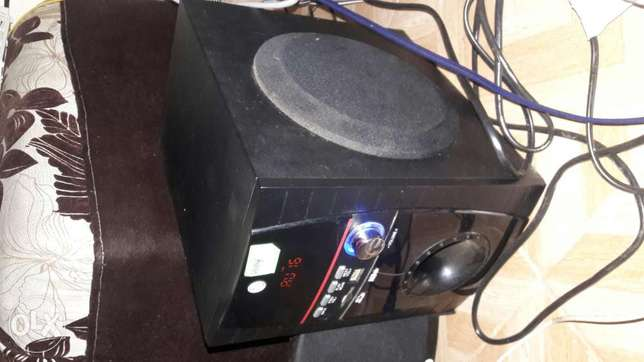 Good deal good machine offer ! LG sub woofer working efficiently Muthini Estate - image 1