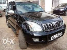 extermely clean toyota prado fresh import in excellent condition