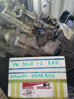 VW Polo 1.6 BAH Manual Gearbox For Sale