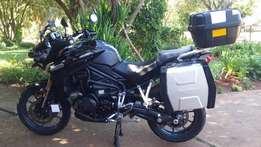 Triumph Tiger Explorer 1215 cc excellent condition
