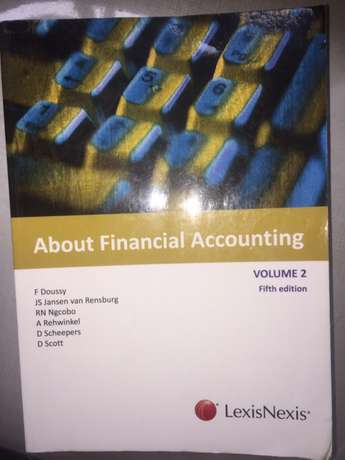 About Financial Accounting volume 2 fifth edition LexisNexis F Doussy Tongaat - image 1