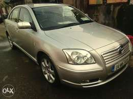 Toyota Avensis 2005 model Leather seat's