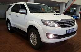Toyota Fortuner 2.5 D4D Automatic